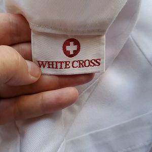 White Scrub top size small